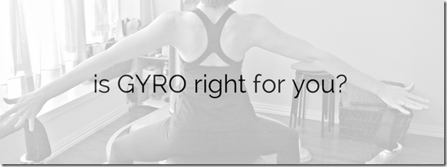 Is GYROTONIC right for you